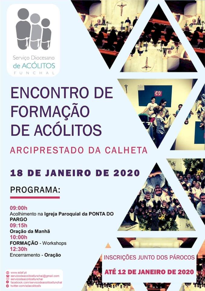 Ponta do Pargo acolhe Encontro de Formação de Acólitos dia 18 de Janeiro